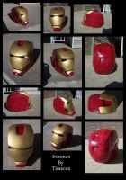 ironman helmet by TIMECON