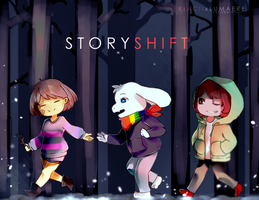 Storyshift [Collab with Lumaere] by kyashee