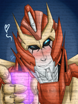 Fabimus Prime Being Drunk And Flirty by I3-byUsagi