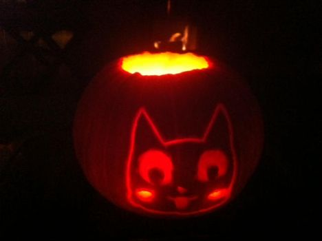 Fairy Tail Pumpkins Carving 2 by DWeegee