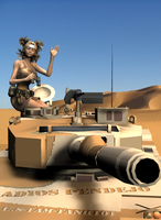 Temari Desert Warfare by Dangerboy3D