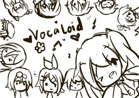 I love VOCALOID by Yuimatsuri