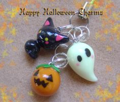 Happy Halloween 3 in 1 Charms by Shielou