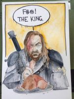 F the King - The Hound by AmandaRachels
