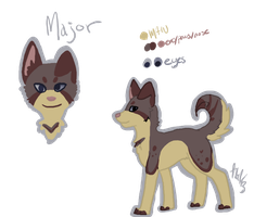 Major Reference Sheet by Kama-ItaeteXIII