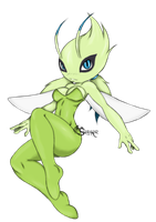 Celebi Girl Morph by Suirano