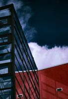 Red And Blue Arhitecture 713 by PancolartJorge