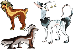 Creature adopts - CLOSED- by SummerAdopts