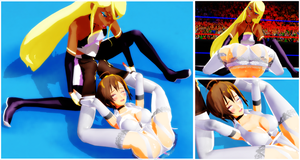 [MMDWRESTLING]Matchbook Pin on Meiko by tousato