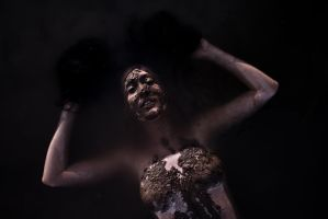 ophelia in mud by obviologist