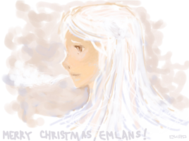 Merry Christmas to Emlans by eloretardo