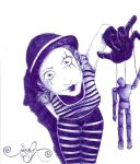 Mime_MarioneTTe by ArtSpansTime