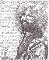 Jerry Garcia - Casey Jones by IsaacMorgan