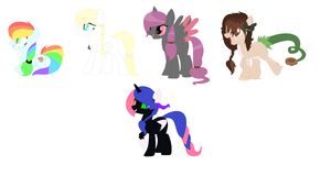 My single character -ponies- by dragonlover786
