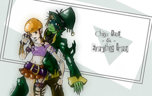 China Doll + Everything Green by shirochan