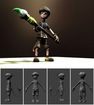 Dood Model by lan-kun
