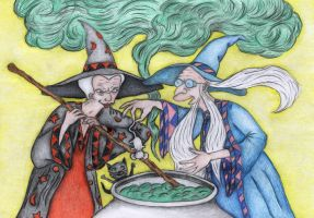 Witches' Brewerama by Sofen