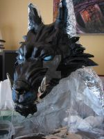 WIP Wolf Container Totem 2 by AgentPendergast