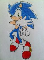 Sonic the Hedgehog by DanielasDoodles