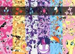A Little Pony Collage by EpicSpace