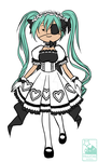 Gaia Online : Dark Angel Seira by HitokiriChibi