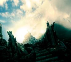 Lord of the rings Minas Tirith by DutchMilk
