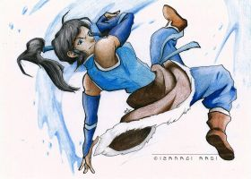 Korra ~::Copics and Castells::~ by Iza-nagi