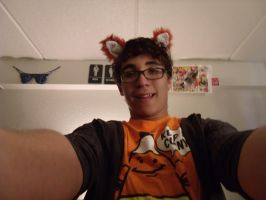 Me W/ Fox Ears and Tail 4 by LooseId