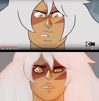 Jasper screencap redraw by k4m11
