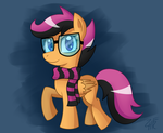 Hipster Scootaloo by wildberry-poptart