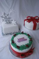 Christmas Cakes by Verusca