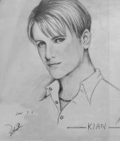 Old drawing: Kian Egan by vigshane