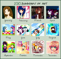 Summary of art 2010 by Yamio