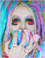 . how I became a rainbow . by Countess-Grotesque