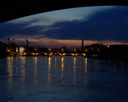 Sunset over the Rhine by BAC-of-all-trades