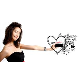 Yoona with newChocolate by browneyedfairy23