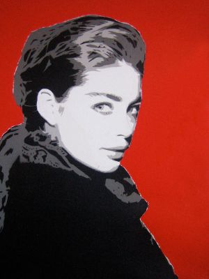 Doutzen Kroes canvas by delicnets