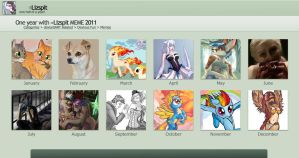 2011 Summary of Art by lizspit