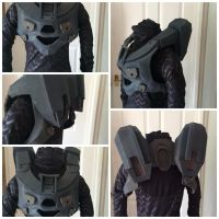 Halo4 Master  chief - wip by Misikat