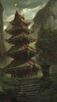 The lost pagoda by KlausPillon