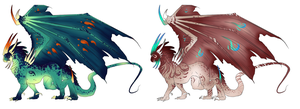 Karyon Dragon adopts #2 - CLOSED by ErisAdopts