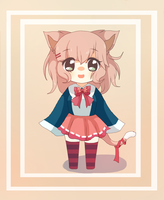 Adoptable : Cute Kitty Girl -CLOSED- by Monachi