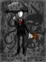 Slenderman - The silent childhood murderer. by JoniBravo