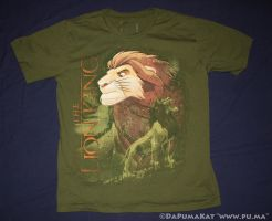 The Lion King - Disneystore 2012 Adult Simba shirt by dapumakat