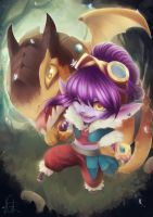 Dragon Trainer Tristana by Cirath