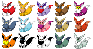 eevee adoptables 1 by hawkkit111
