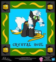 Crystal Soul OC Collectible Card by StryKariSPEEDER