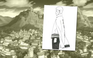 Uzumaki Naruto 7th Hokage Wallpaper 2 by weissdrum