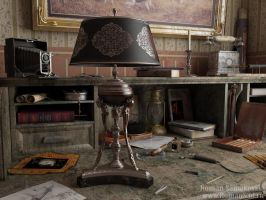 Old lamp by RomanS3d