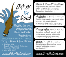 Business Cards: Otter Be Good by Starflier
